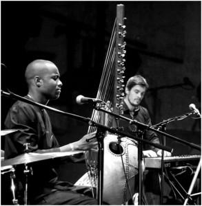 Sura Susso and Pete Bernard
